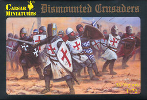 Caesar Miniatures 1/72 086 Dismounted Crusaders