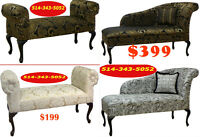 chaises, chairs divan, fabric couches, sleeper sofas, lounges