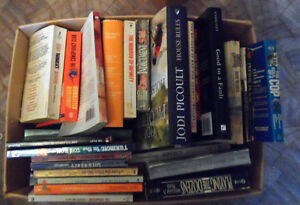 For Sale is a box of  used 65   Books Various Titles Edmonton Edmonton Area image 3