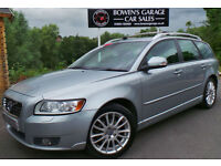 2011 VOLVO V50 1.6D SE LUX S/S - FULL S/HIST - 2 OWNERS - FREE TAX - TOP SPEC