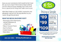 MaidSimple House cleaning services (Whitby/Ajax/ Pickering)