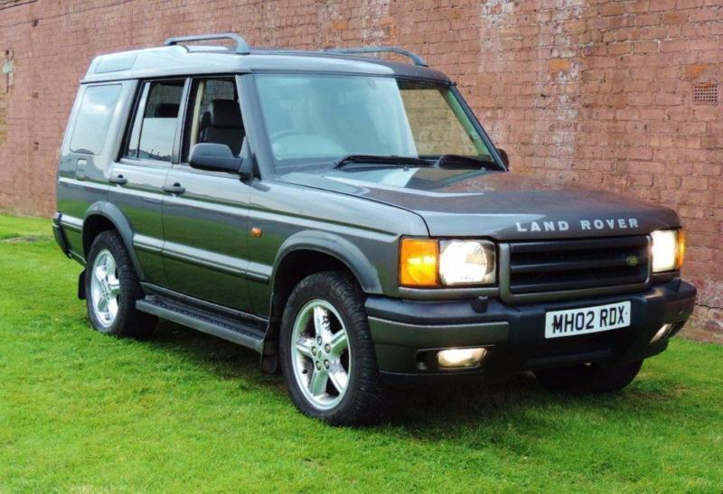 2002 land rover discovery 2 2 5 td5 es 5dr in glasgow. Black Bedroom Furniture Sets. Home Design Ideas