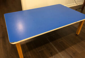 WOODEN TABLE FOR TODDLERS USED