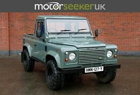 2007 Land Rover Defender Pick up county pack Td5 VERY RARE super low miles ...