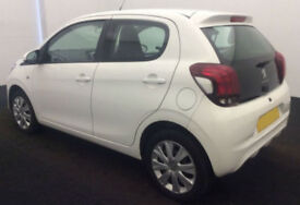 2014 PEUGEOT 108 1.0 ACTIVE GOOD / BAD CREDIT CAR FINANCE FROM 24 P/WK