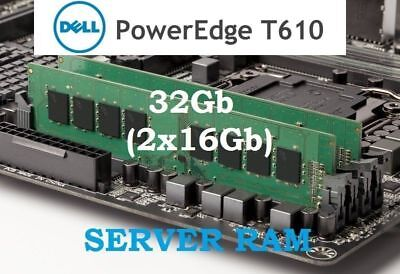 8x16GB 128GB DDR3 PC3L-8500R 4Rx4 ECC Server Memory RAM Dell PowerEdge T620
