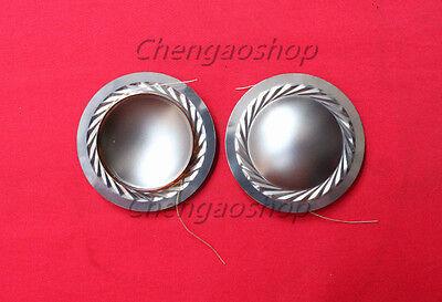 2pcs New 39mm High Quality Titanium Alloy Diaphragm Tweeters Voice Coil Qd33 Zx