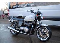 2010 - TRIUMPH BONNEVILLE SE, EXCEPTIONAL CONDITION, £5,250 OR FLEXIBLE FINANCE