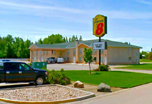 Furnished room, Bi-Weekly or Monthly, Super 8 Motel in Taber AB