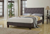 SALE ELEGANT UPHOLSTERY BED $279.00