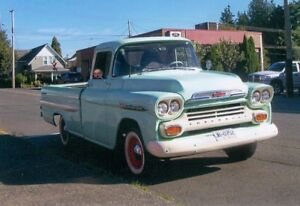 THIS 1959  CHEVROLET  APACHE IS  PRICED TO SELL!   $22,500.  OBO