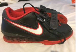 super popular 9c674 a634d Nike Romaleos 2 Men s Weightlifting Shoes - Black Red size 10.5