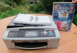 Brother printer/ scanner with cartridiges