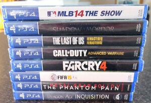 Selling PS4 games. UNOPENED & BRAND NEW. List in Ad. London Ontario image 2