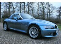2001 BMW Z3 2.2 2 DOOR CONVERTIBLE ROADSTER PETROL WARRANTIED LOW MILEAGE FSH, used for sale  Chelmsford, Essex