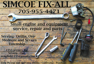 Small engine service and repairs