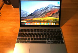 2017 Apple 12 inch MacBook with Apple Care