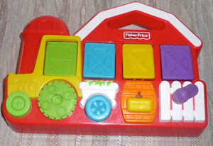 Fisher Price Farm Pop Up Pals... No Batteries Needed