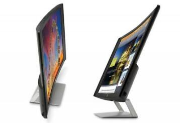 Nieuw 27 inch HP EliteDisplay S270c Curved + HDMI