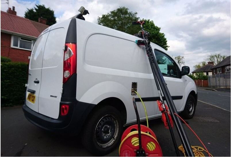 14530ec202 Renault Kangoo Window Cleaning Van ( Water Pole Fed System ) low mileage.  SUNDERLAND area. Sunderland