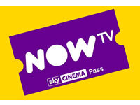 2 NOW TV Sky Cinema 2 Month Passes £10 each