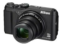 Nikon Coolpix S9700 - Boxed Like New with FREE Lowepro case.