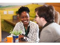 Cafe Coordinator in a fun training centre: £9.40 p/h, 22.5 hours p/w, family friendly hours