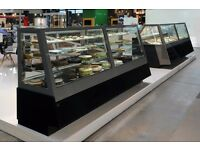 Coffee Shop Display / Patisserie Display Fridges / Hot / Cold Display