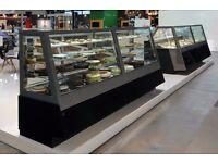 Coffee Shop Display / Patisserie Display Fridges / Hot / Cold Display