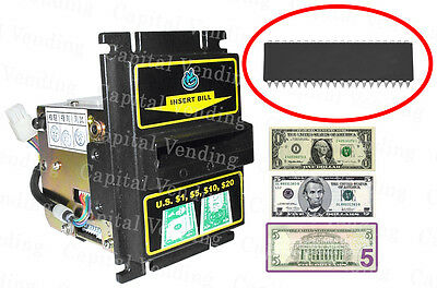 Bl 700 Ict Usd  Game Max Bill Acceptor Validator Eprom To Update To 2008 5