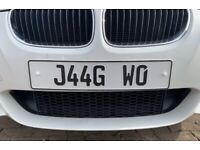 Number Plate - J44GWO