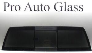 Rear Back Sliding slider Window Glass 2009-2015 Dodge Ram Brand New Tinted OEM