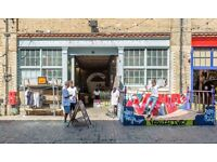 Pop-Up / Shop Share Camden Stables Market