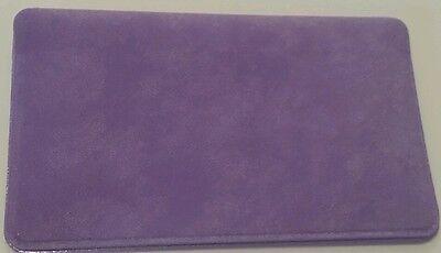 5 Victorias Secret Purple Velour Business Cards  Id  Debit  Credit Card Cases
