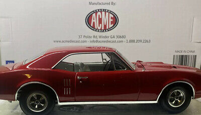 GMP / ACME 1967 Pontaic FIREBIRD 1/18 Scale VERY RARE Only 200 Produced Number 3