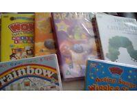 Children's DVDs - mixture - inc Charlie/Choc Factory, Chitty, Chitty Bang Bang
