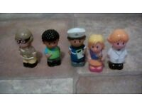 Happyland characters 5 each set