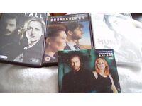 The Fall DVD, Broadchurch Series One DVD, CSI DVD