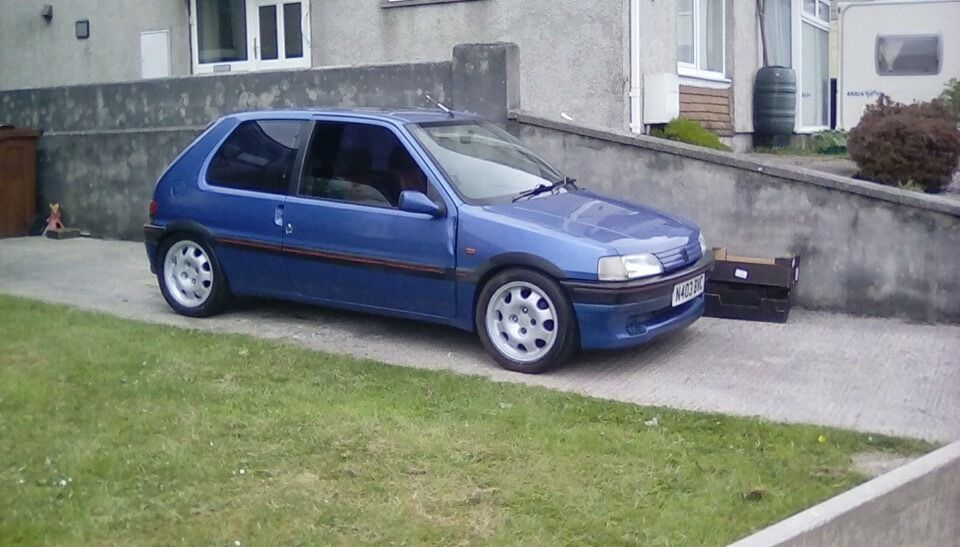 peugeot 106 xsi rep in plymouth devon gumtree. Black Bedroom Furniture Sets. Home Design Ideas