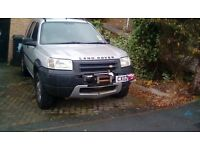 Landrover Freelander TD4 4X4 with winch,