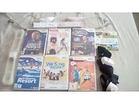 NINTENDO WII WITH GAMES ECT
