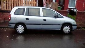 Sell zafira £450 pound.