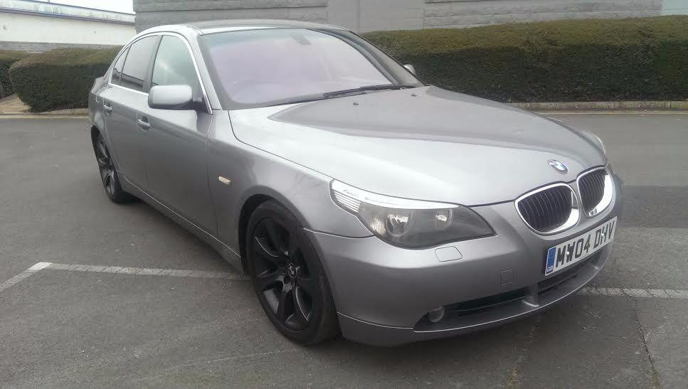 2004/04 BMW 525d SE Auto, low miles, excellent history & condition, 3 month warranty