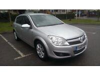 2007/07 Vauxhall Astra 1.6 Design, Silver, FSH, 94k, Half leather, New MOT, nice spec model, vvgc