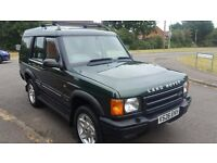 LAND ROVER DISCOVERY TD5 AUTO, YEAR 2000 LONG MOT CLEAN CAR