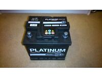 Platinum Prestige 12V Car Battery 40Ah/380A CCA 063E-Excellent Condition-2 yr warranty