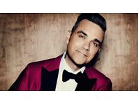 2x Robbie Williams tickets 23 june 23.06.2017 The Heavy Entertainment Show