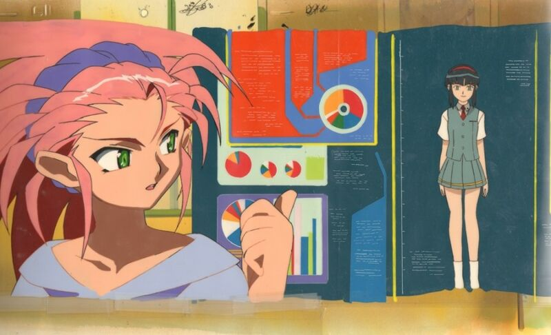 Anime Cel Tenchi #262