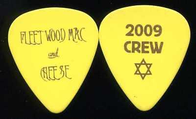 FLEETWOOD MAC 2009 UnLeashed Tour Guitar Pick!!! Crew