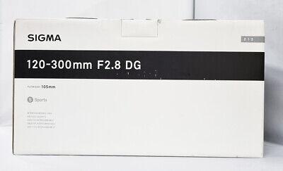Mint SIGMA Sports 120-300mm F/2.8 DG OS HSM (Canon EF mount)